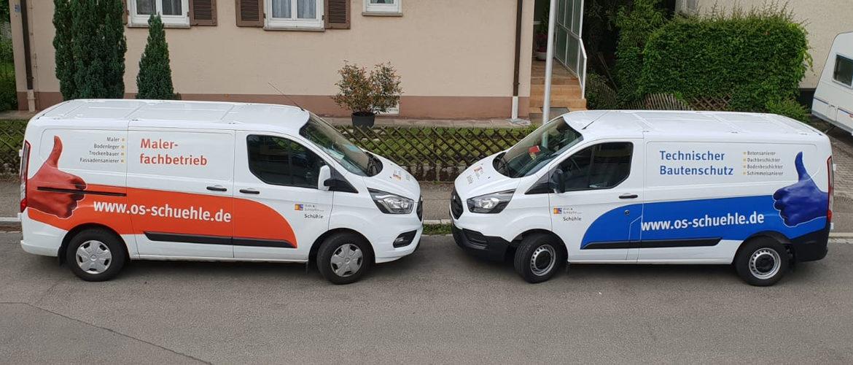 Unsere zwei Schwerpunkte: Malerfachbetrieb und Technischer Bautenschutz mit SIVV