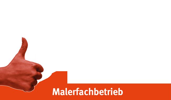 OS Schöpflin Gruppe Daumen rot Malerarbeiten