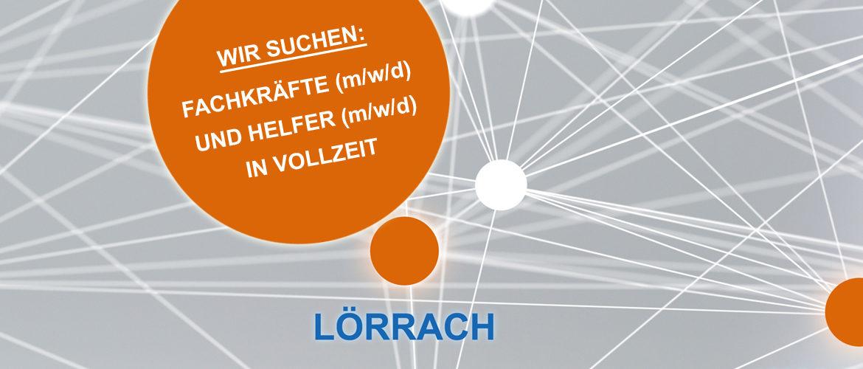 Wir suchen in Lörrach ab sofort Fachkräfte (m/w/d) - Bereich Technischer Bautenschutz und Buchhaltung