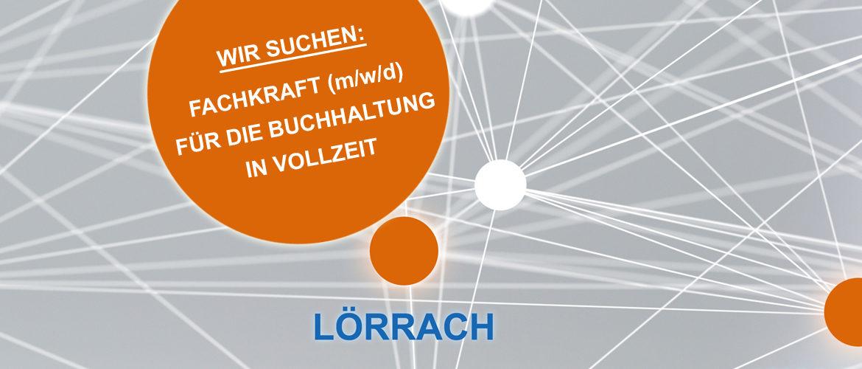 Wir suchen in Lörrach ab sofort eine Fachkraft (m/w/d) für die Buchhaltung in Vollzeit